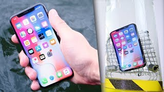 iPhone X Water Test! Extreme Conditions