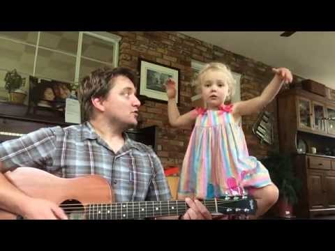 Adorable Daddy/daughter Duet