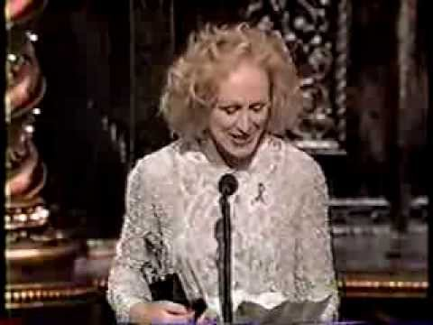 Glenn Close wins 1995 Tony Award for Best Actress in a Musical