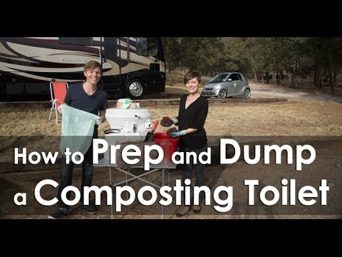 How to Prep and Dump a Composting Toilet