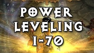 Diablo 3: Reaper Of Souls Level 1-70 Power Leveling