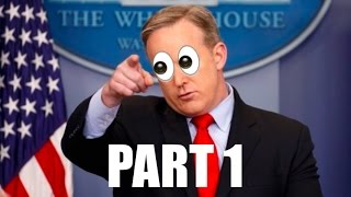 Sean Spicer Best Moments - Compilation (part 1/2)