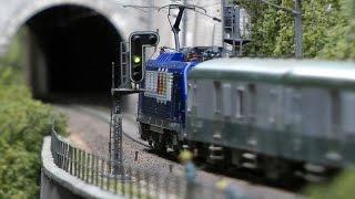 Modelleisenbahn Réseau de la Bosse vom Club Ferroviaire de Franche-Comté