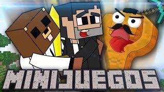 NO TE CAIGAAAAAAAAAAAS! | Minecraft Minijuegos