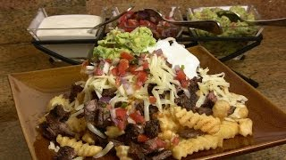 Super Bowl Recipe: Carne Asada Fries (Cooking with Carolyn)