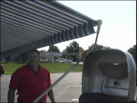 Brilliant Airstream Zip Dee Awning Guide - YouTube