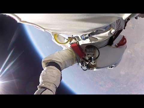 Adrenalina absoluta: GoPro publica el video del salto de Felix Baumgartner