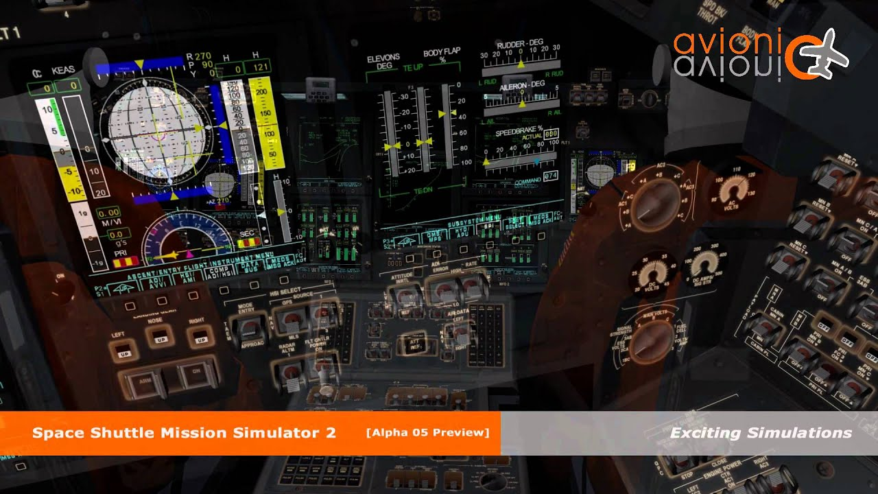 space shuttle mission simulator hints - photo #30