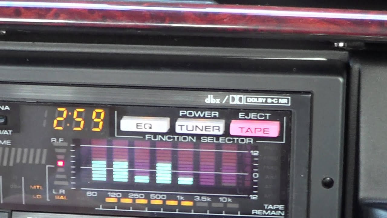Kenwood cassette player