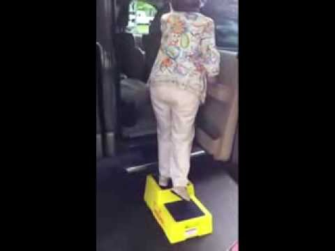 How A Safe Step Stool Help Blind Senior To Enter And Exit