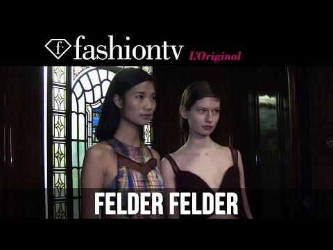 Felder Felder Fall/Winter 2014-15 Backstage | London Fashion Week LFW | FashionTV