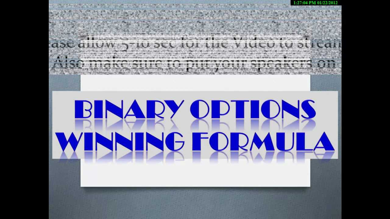 Jerry manner binary options winning formula