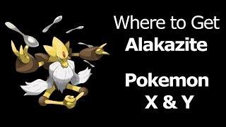 Where To Find Alakazite Pokemon X Y Alakazite Mega