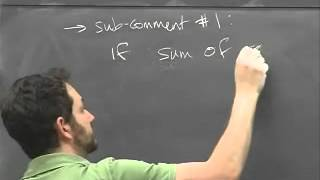 Lec 10 - Linear Algebra | Princeton University