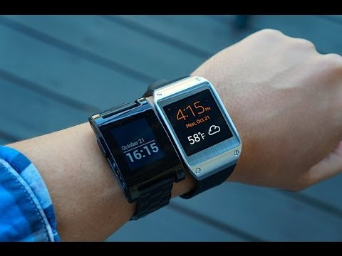 Galaxy Gear vs Pebble
