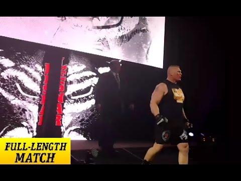 BROCK LESNAR vs. RUSEV - WWE Live 2016 Full Match