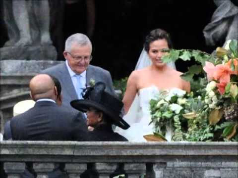 JOHN LEGEND : Marries Chrissy Teigen in Italy (PHOTOS)