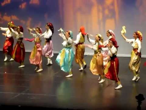 Serbian Folk Dances from Vranje region - Vranjanske Igre - Врањанске Игре