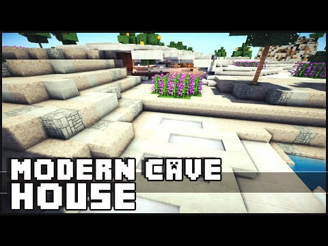 Minecraft - Epic Modern Cave House