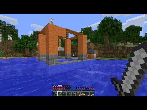 Minecraft Ep. 25 -Port Gantry Crane