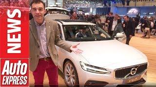 New Volvo V60 makes Geneva Motor Show debut - a super-stylish Swedish estate. Auto Express.
