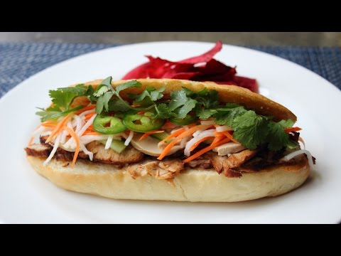 Banh Mi Sandwich - How to Make a Bánh Mì Vietnamese-Style Sandwich