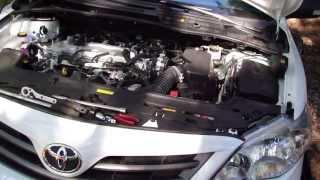 How To Change Headlight Bulbs Toyota Corolla. Years 2008