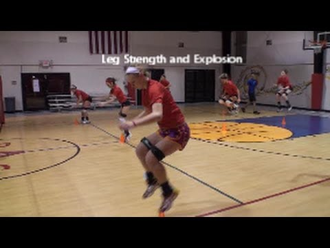 Volleyball Jump Training | Technique and Safety  | Leg Strength | Part 4