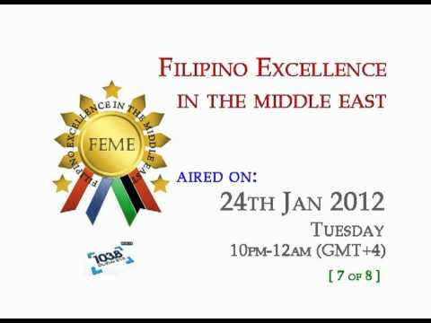 24th Jan 2012 (7 of 8) - Filipino Excellence in the Middle East