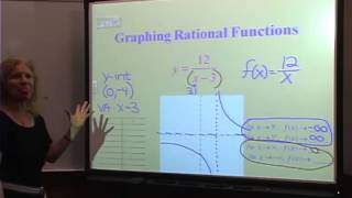 College Algebra: Lecture 16 - Graphing Rational Functions Part 1