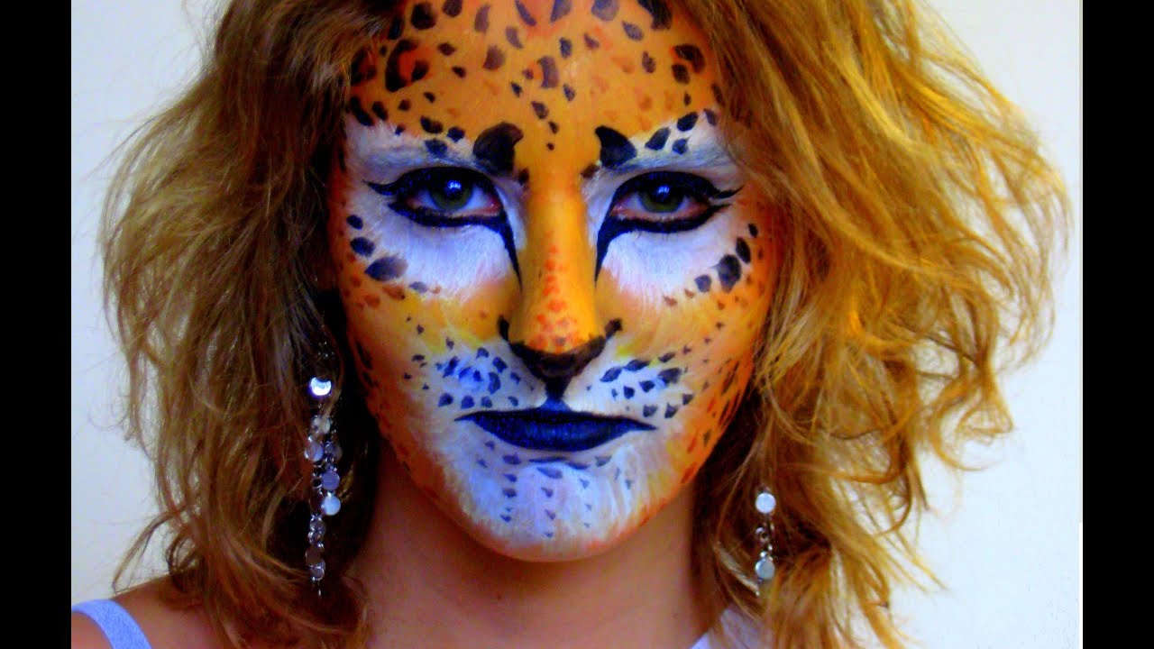How to Face paint a lion  Kids Parties  WonderHowTo