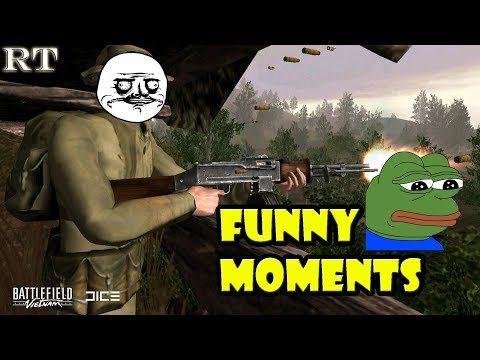 BATTLEFIELD : VIETNAM - FUNNY MOMENTS [PART 2] | OPERATION GAME WARDEN
