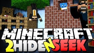 Minecraft Hide And Seek 2 THE RUNNING BOOKSHELF