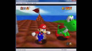"""Super Mario 64 """"Truco Para Aumentar Estrellas Y Ablar"""