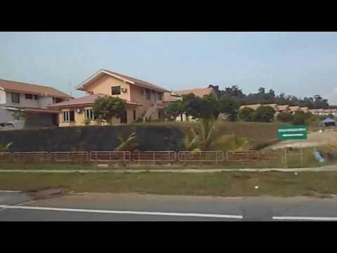 Driving from Giant to Apartment Universiti Brunei Darussalam