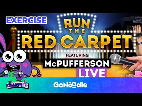 Run The Red Carpet - Hot Ticket | GoNoodle