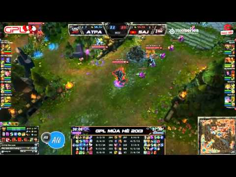 [GPL 2013 Mùa Hè] [Tuần 6]  Azubu Taipei Assassins vs Saigon Jokers [21.06.2013]