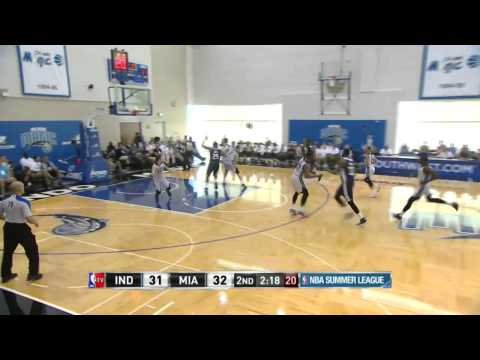 Indiana Pacers vs Miami Heat | July 10, 2014 | NBA Summer League 2014