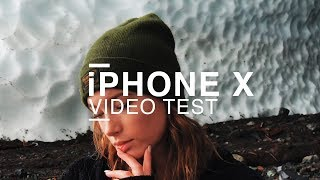 iPHONE X VIDEO TEST - 4K
