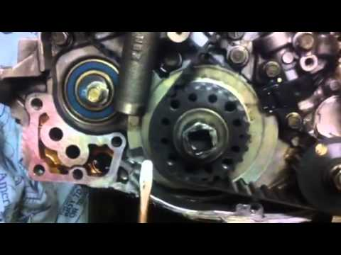 timing belt install youtube