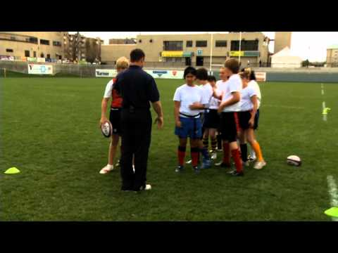 Rookie Rugby - 1 v 1 and 2 v 2