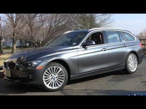 2014 BMW 328d (Diesel) Sports Wagon Test Drive - Most Fuel Efficient A