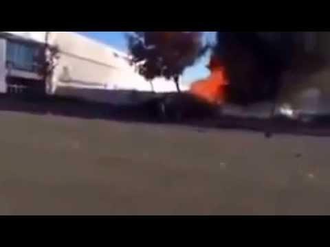 CCTV REAL FOOTAGE Paul Walker Died in Fatal Car Accident Paul Walker Crash Scene Footage