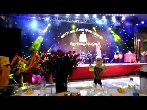 Múa Chăm - Mừng sinh nhật công ty tổ chức sự kiện Quang Hữu Ninh Bình