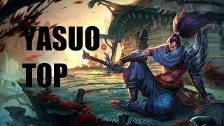 League Of Legends Yasuo Top Full Game Commentary