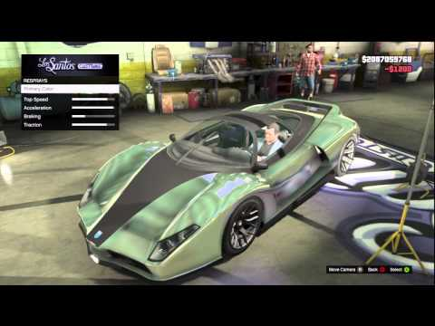 GTA 5: FULLY CUSTOMIZED Ferrari F512 (Grotti Cheetah) Los Santos Customs + Gameplay,