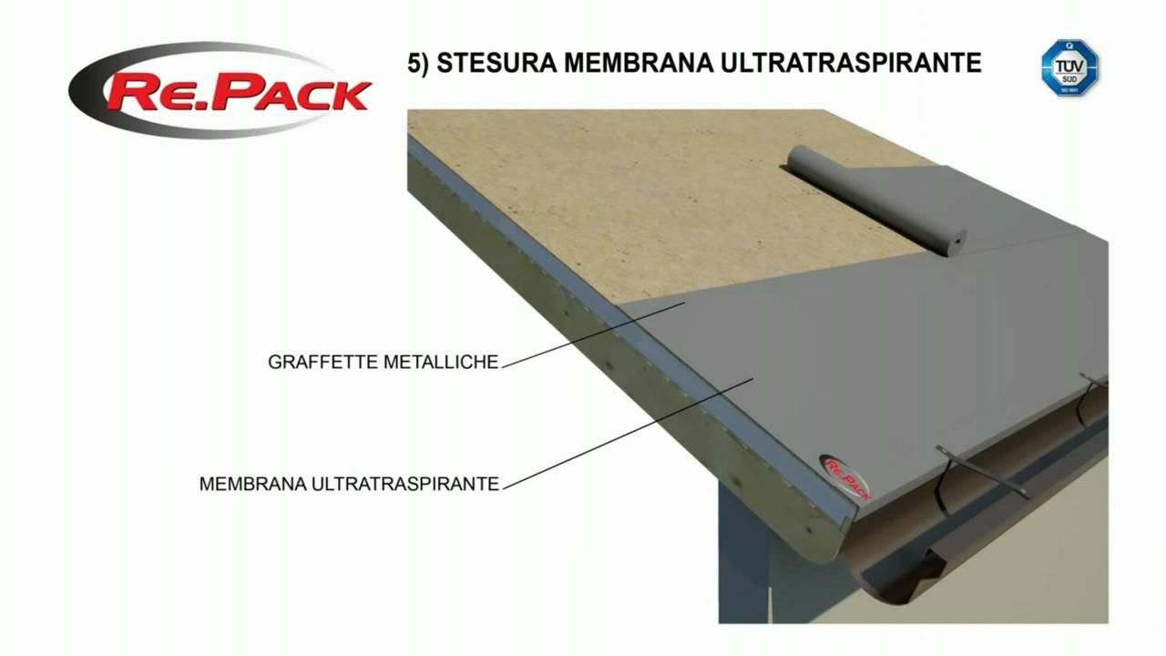 Montaggio tetto ventilato con coperture sandwich youtube for Montaggio tetto in legno ventilato