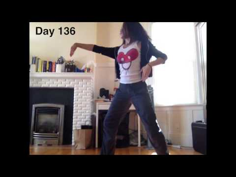 Girl Learns to Dance in a Year (TIME LAPSE) - Girl Learns to Dance in a Year (TIME LAPSE)