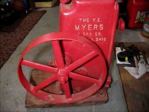 F.E. Myers Pumps was established in 1870, the Myers&apos; brothers developed the first double acting hand pump. They now make waste water and industrial pumps of all types.
