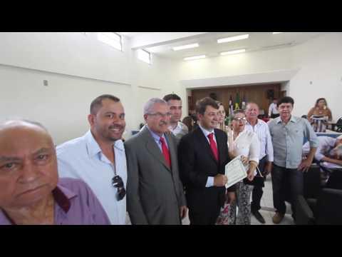 Diplomação do Prefeito eleito de Cocos